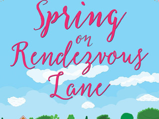 Blog Tour - Spring On Rendezvous Lane by Angela Britnell