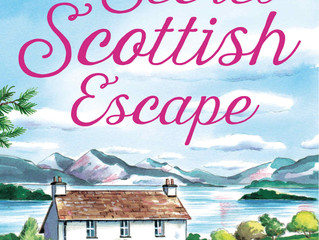 Cover Reveal! A Secret Scottish Escape by Julie Shackman