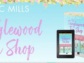 Publication Day for The Tanglewood Tea Shop