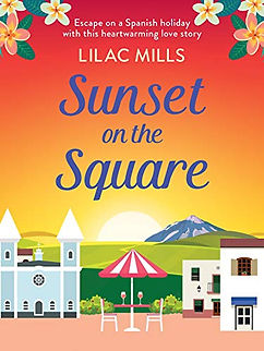 Sunset on the Square by Lilac Mills