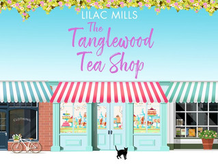 Publication Day for The Tanglewood Tea Shop!