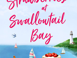 Summer Strawberries at Swallowtail Bay by Katie Ginger