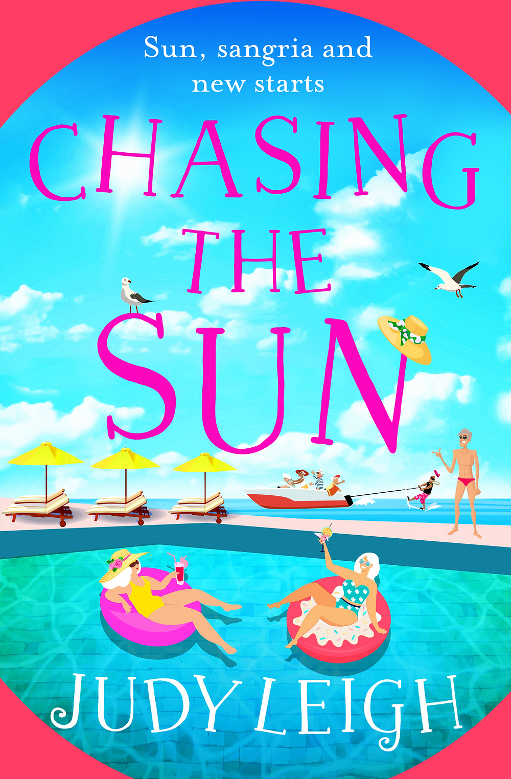 Book cover for Chasing The Sun by Judy Leigh
