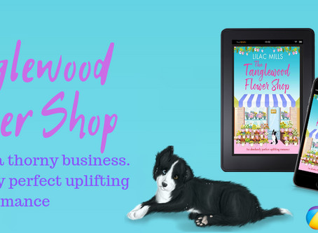 Publication Day for The Tanglewood Flower Shop