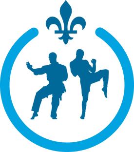 Logo of the Quebec martial arts schools association
