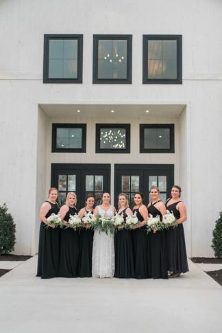 Pre-ceremony photos - Bridal party