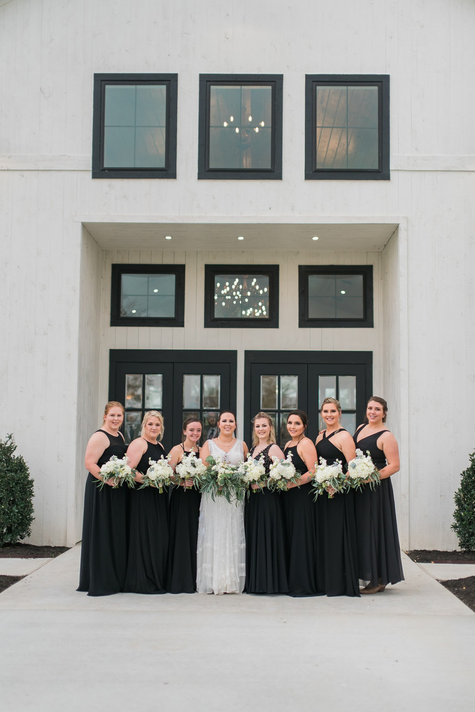 Pre-ceremony photos - Bridal party