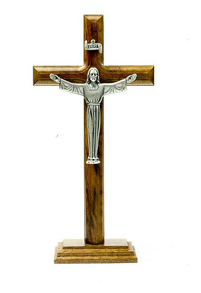 Risen Christ Standing Crucifix