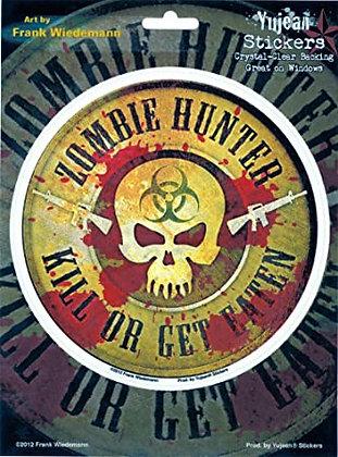 Zombie Hunter Sticker/decal