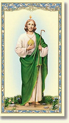 St. Jude Holy Card