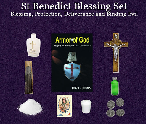 St Benedict Blessing Kit
