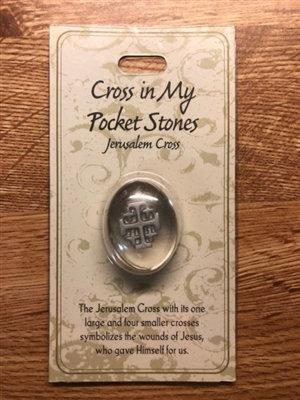 Cross in My Pocket Stones Jerusalem Cross