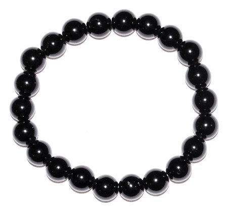 8mm Black Obsidian bracelet