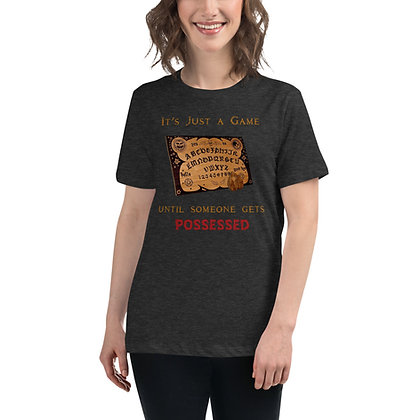 It's Just a Game Ouija Women's Shirt