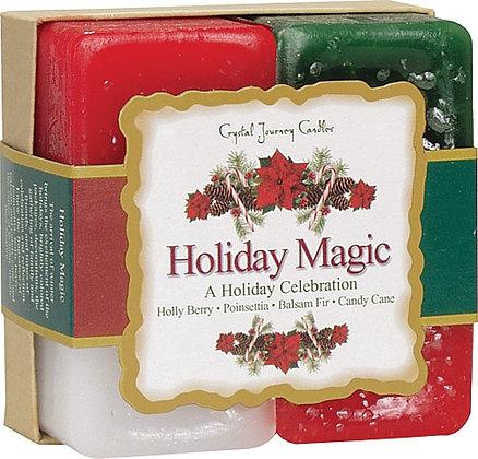 Herbal Gift Set - Holiday Magic Candles