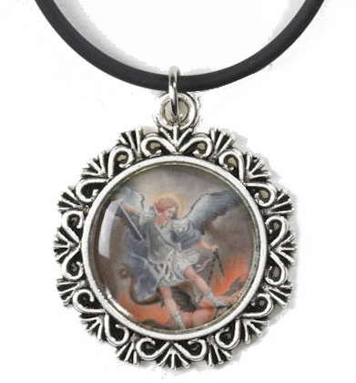 St. Michael Picture Pendant