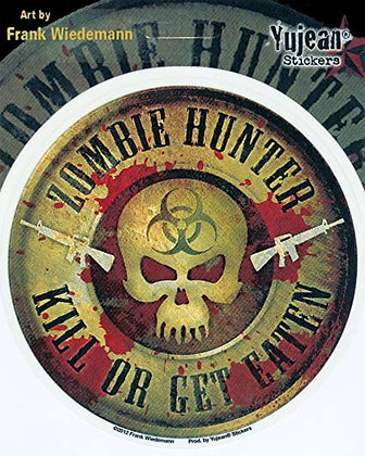 Zombie Hunter - Sticker / Decal