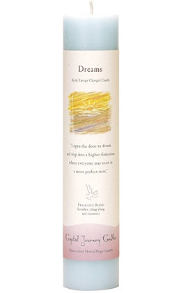Reiki Charged Dreams Pillar Candle