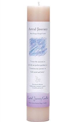 Reiki Charged Astral Journey Pillar Candle