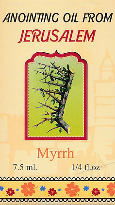 Anointing Oil from Jerusalem: Myrrh
