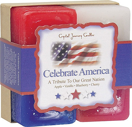 Herbal Gift Set - Celebrate America Candles Candles