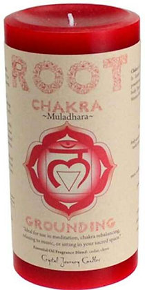 Chakra Pillar Candle – Root