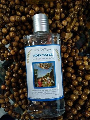 Holy Water from Jordan River Baptism Site