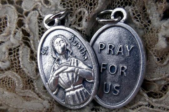 Saint Agatha Medal