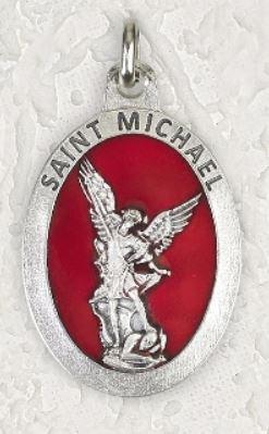 St Michael Epoxy Medal