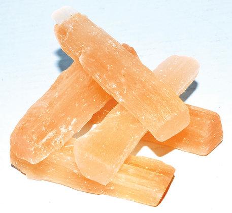 Orange Selenite Sticks 5 pack