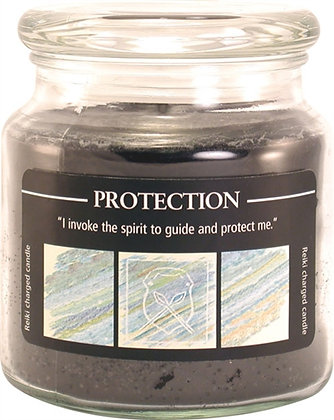 Reiki Charged Protection Jar Candle