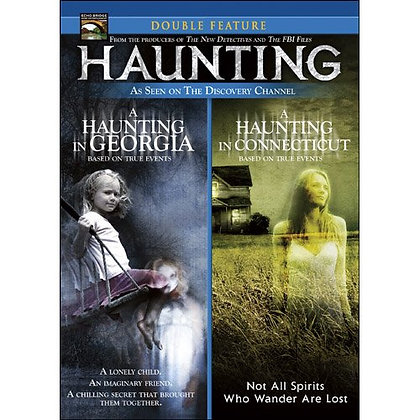 A Haunting Double Feature DVD