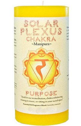 Chakra Pillar Candle – Solar Plexus