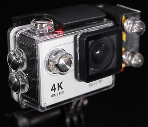 4K POV Camera w/ free light  GoPro Compatible *