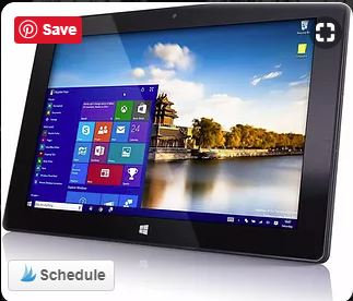 """10"""" Custom Tablet Loaded with Kinect Software"""