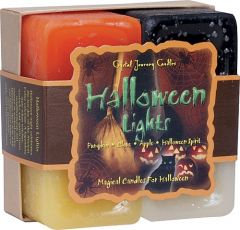 Halloween Lights candle set