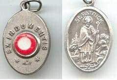 St Patrick Relic Medal