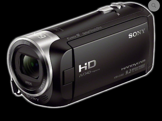 Full Spec SONY CX405 camcorder