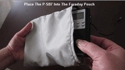 Flexible Faraday Cage Pouch for SB7 & SB11