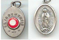 Our Lady of Guadalupe Relic Medal