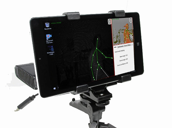 Kinect/SLS Camera System with case