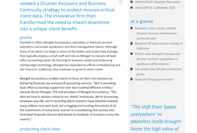 iLand Disaster Recovery Case Study