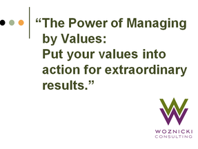 Lynn Woznicki: The Power of Managing by Values