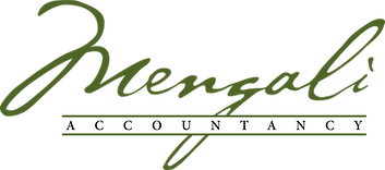 Mengali Accountancy Green Logo