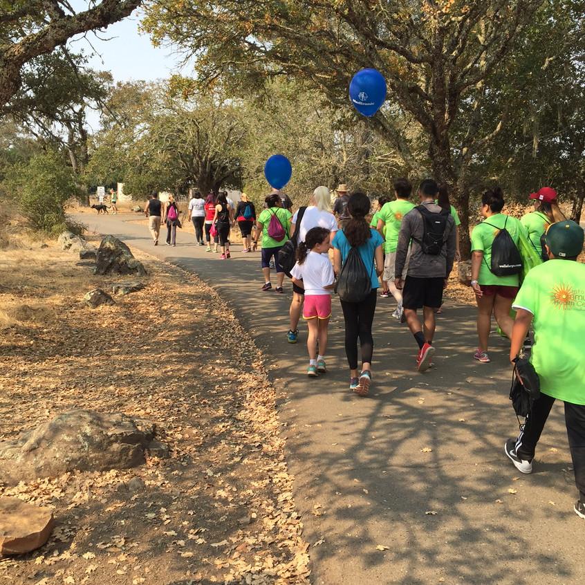 Heart Walk - Participants