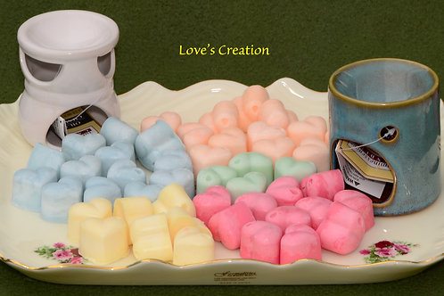 30 Soy Lotion Tart Hearts-Apply to the Skin
