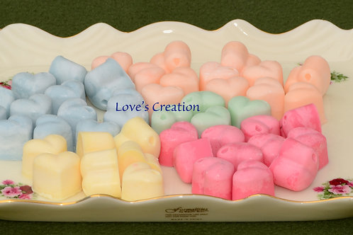 15 Soy Lotion Tart Hearts-Apply to the Skin