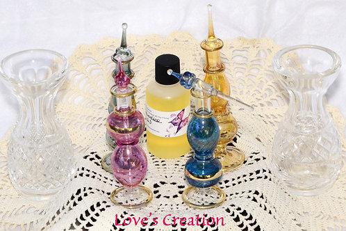 """ONE 5 """" Egyptian Perfume Bottle"""" W/1 oz Free Oil"""