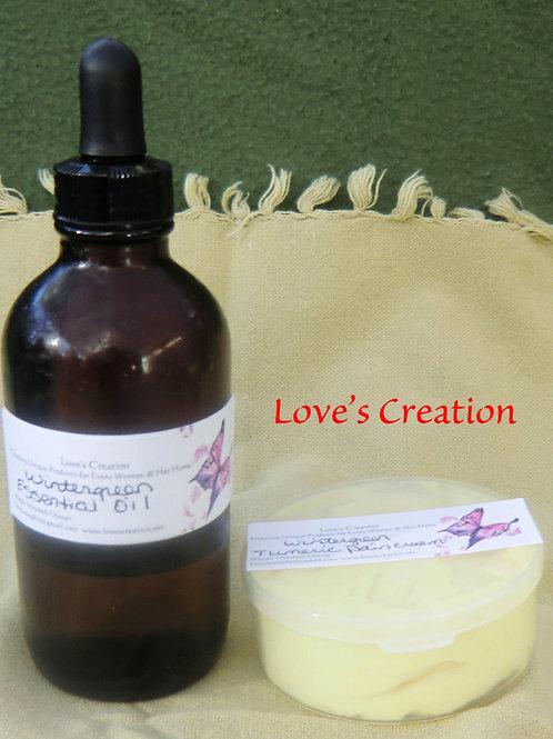 3 oz Tumeric Pain Cream With Shea Butter/Aloe Vera/Evening Primrose