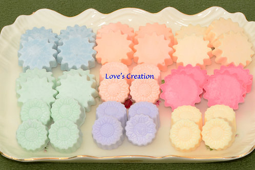 24 Soy Lotion Tarts-Apply to the Skin